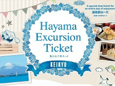Hayama Excursion Ticket